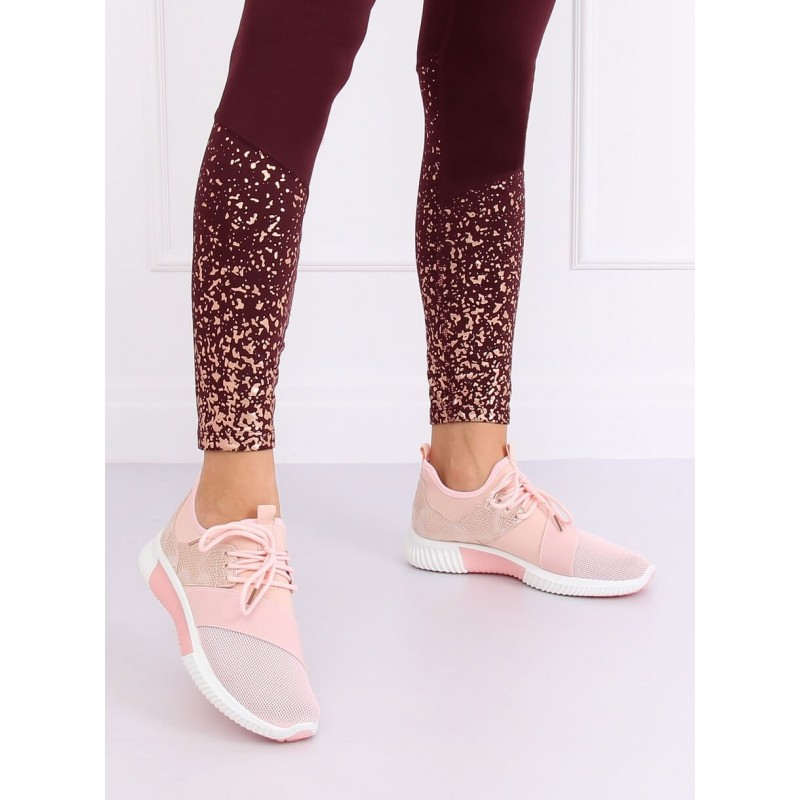 Sportovní dámské tenisky růžové barvy
