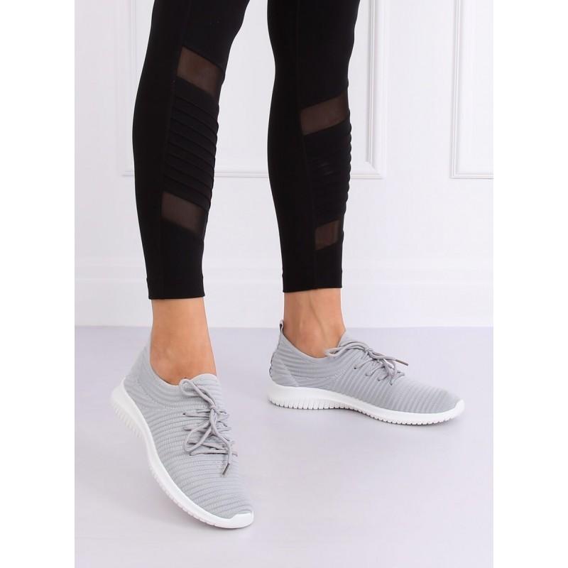 Sportovní dámské tenisky šedé barvy