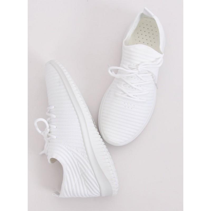 Sportovní dámské tenisky bílé barvy
