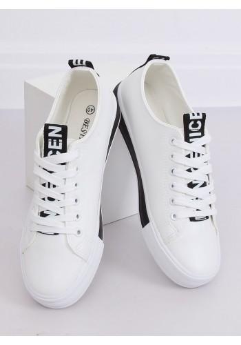Bílo-černé klasické tenisky pro dámy