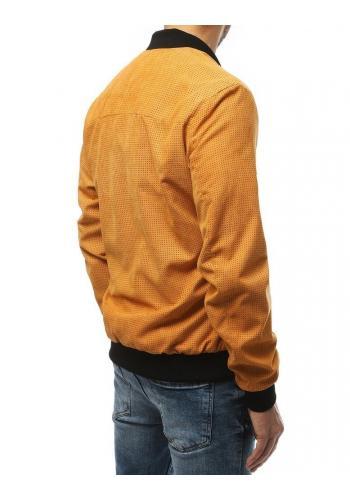 Žlutá jarní Bomber bunda pro pány