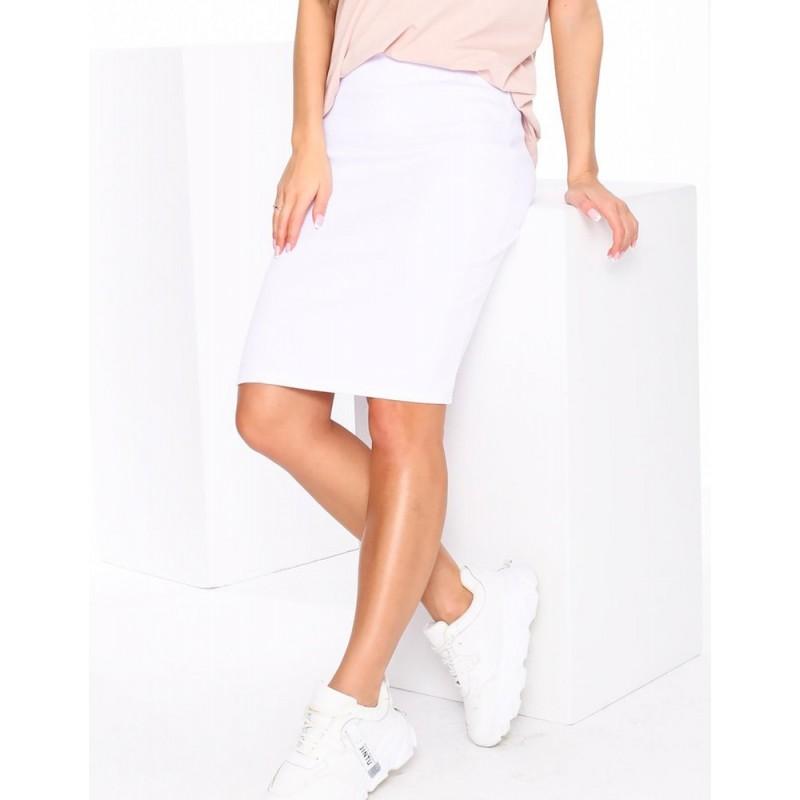 Bílá tužková sukně pro dámy