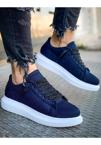Modré stylové Sneakersy pro pány
