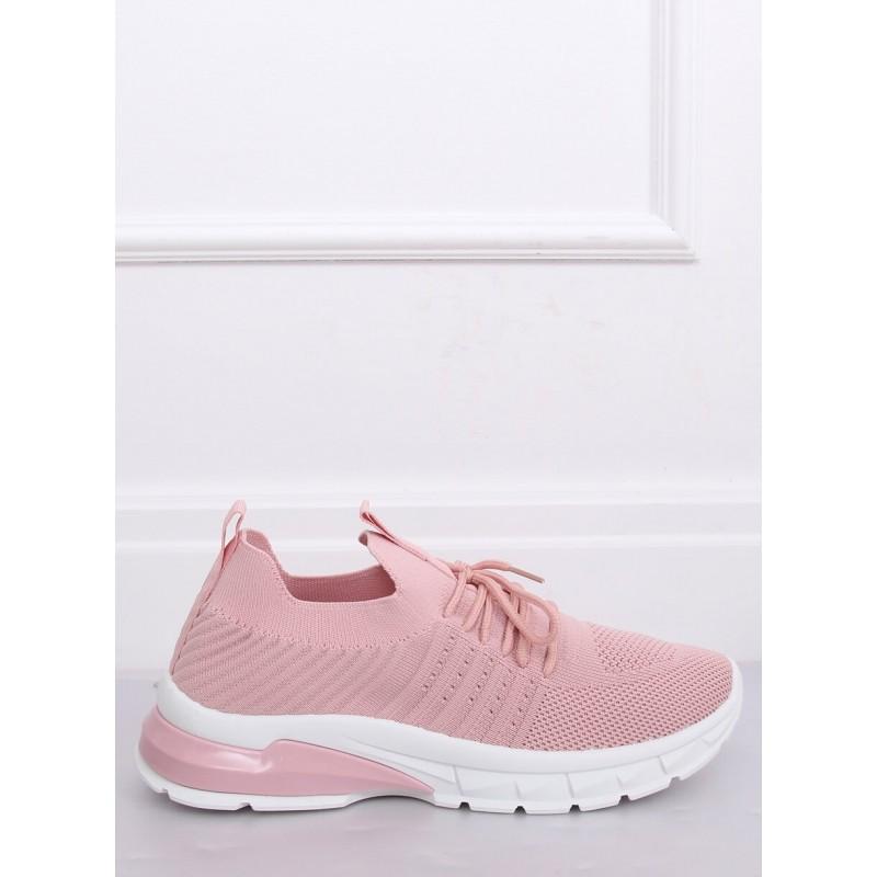 Dámské sportovní tenisky v růžové barvě