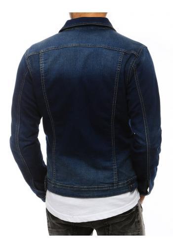 Modrá riflová bunda pro pány