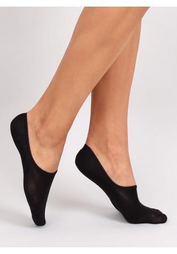 Hladké dámské ťapky černé barvy v dvojbalení