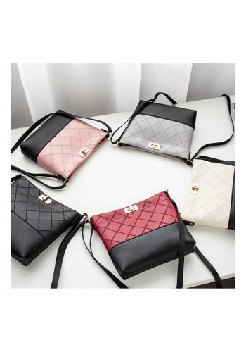 Růžová mini kabelka z ekokůže pro dámy
