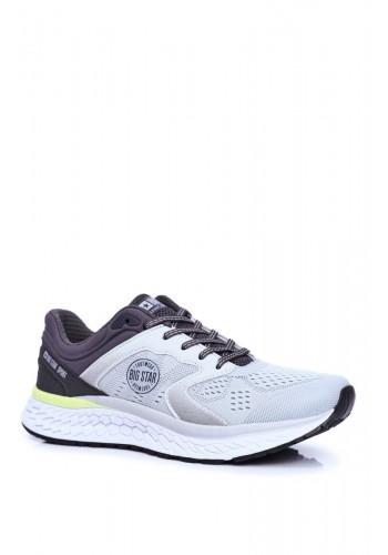 Pánské sportovní tenisky Big Star v šedé barvě