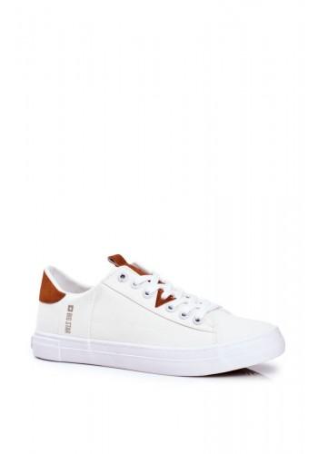 Pánské plátěné tenisky Big Star v bílé barvě