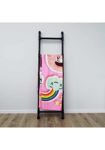 Obdélníkový plážový ručník s barevným motivem