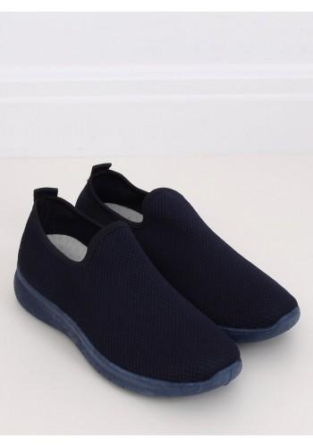 Nazouvací dámské tenisky tmavě modré barvy