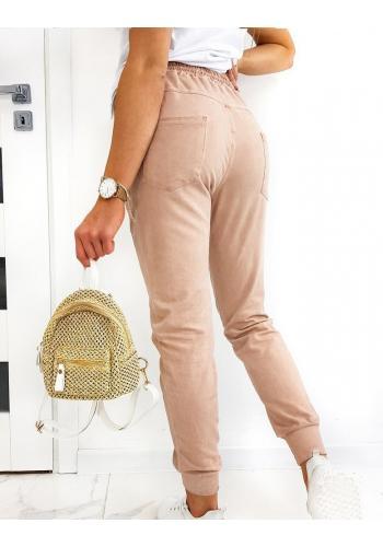 Bavlněné dámské tepláky růžové barvy s kachnou Daisy
