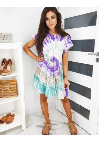 Barevné módní šaty na léto pro dámy
