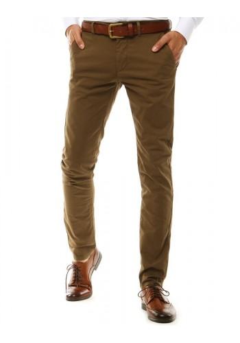 Hnědé Chinos kalhoty pro pány