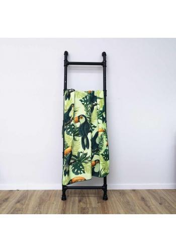 Plážový ručník s barevným motivem tukanů