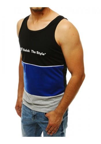 Sportovní pánské trička černé barvy s potiskem