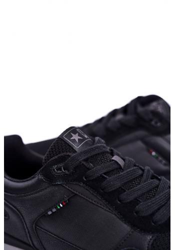 Pánské sportovní tenisky v černé barvě