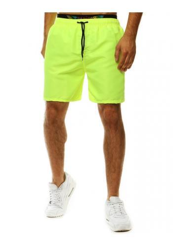 Pánské šortky na koupání v zelené barvě