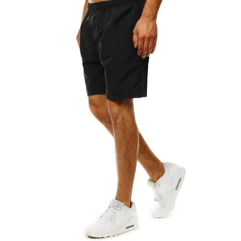 Pánské měnící se šortky na koupání v černé barvě