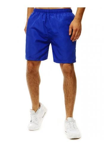 Modré měnící se šortky na koupání pro pány