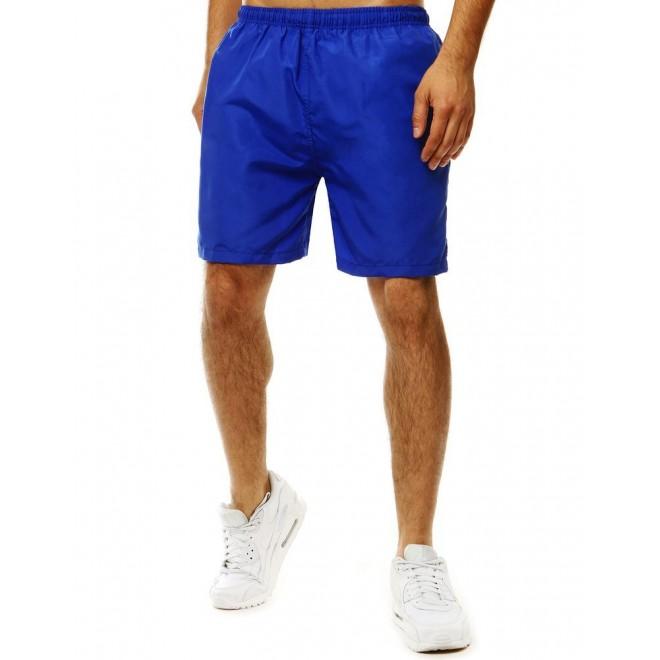 Pánské měnící se šortky na koupání v modré barvě