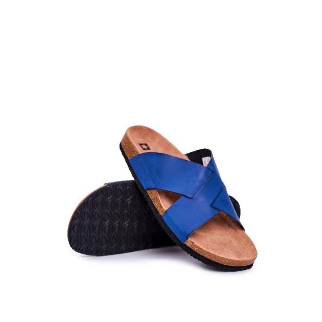 Pánské letní pantofle Big Star v tmavě modré barvě