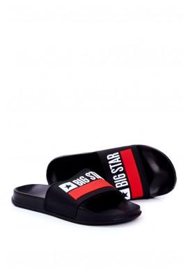 Pánské klasické pantofle Big Star v černé barvě