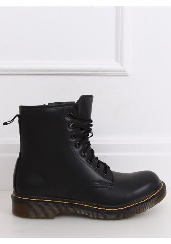 Módní dámské Workery černé barvy