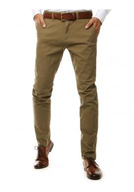 Světle hnědé elegantní Chinos kalhoty pro pány