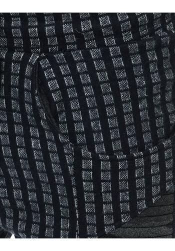 Modro-šedé sportovní Joggery se vzorem pro pány