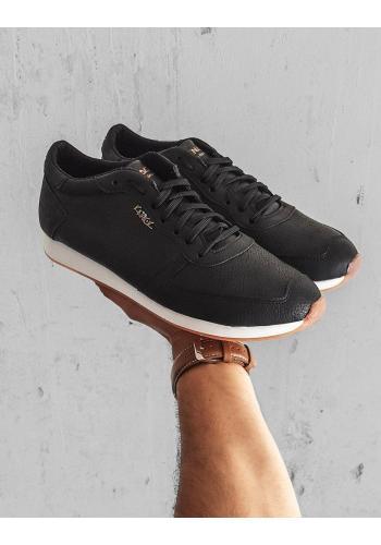 Klasické pánské tenisky černé barvy