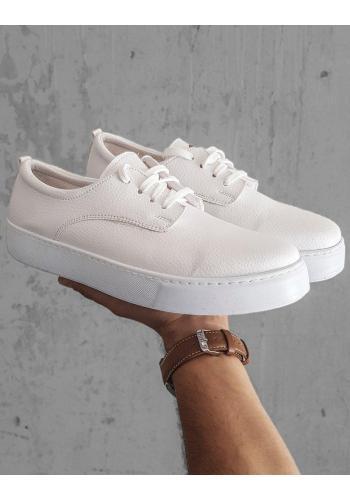 Tenisky bílé barvy pro pány
