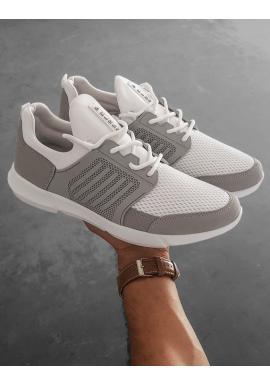 Sportovní pánské tenisky bílé barvy