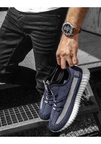Sportovní pánské tenisky tmavě modré barvy