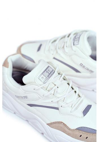 Pánské sportovní tenisky Big Star v bílé barvě