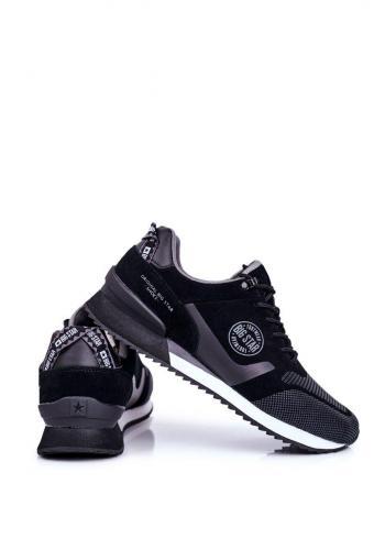 Pánské módní tenisky Big Star v černé barvě