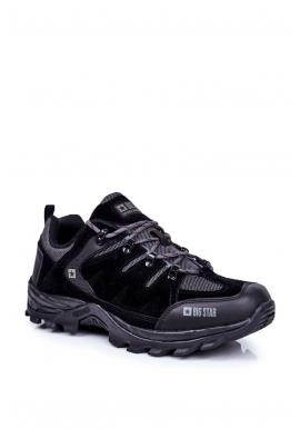 Černá trekingová obuv Big Star pro pány