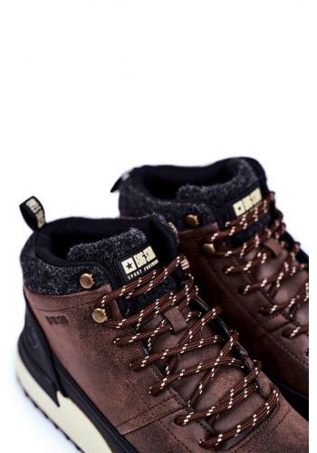 Pánská trekingová obuv Big Star v hnědé barvě