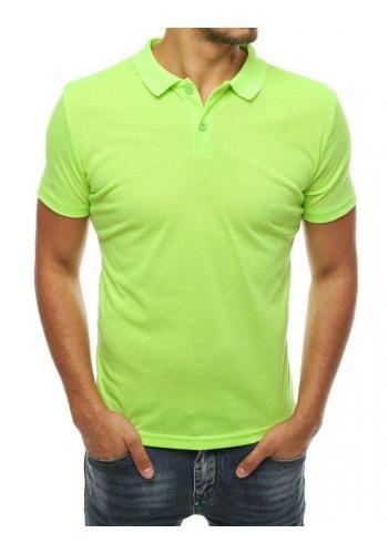 Limetková klasická polokošile pro pány