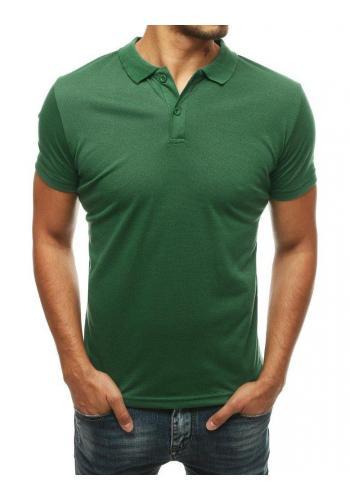 Zelená klasická polokošile pro pány