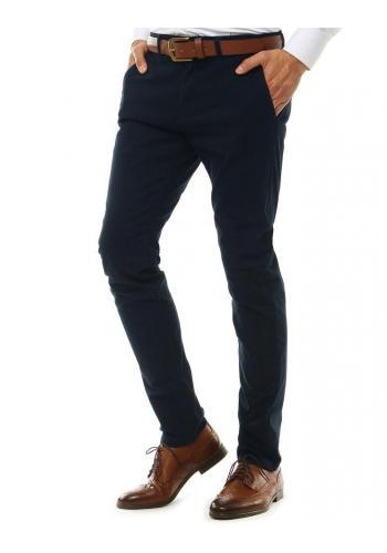 Tmavě modré elegantní Chinos kalhoty pro pány