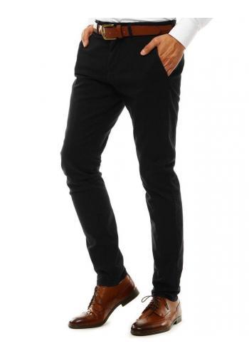 Elegantní pánské Chinos kalhoty černé barvy