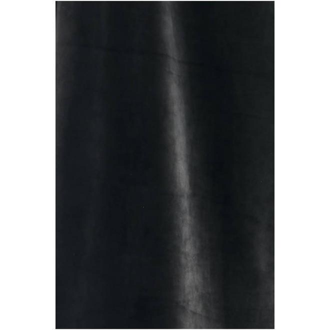 Dámské sametové soupravy s ozdobným pruhem v černé barvě