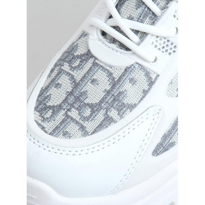 Sportovní dámské tenisky bílé barvy s vysokou podrážkou