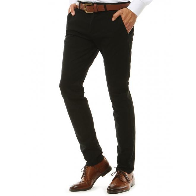 Černé Chinos kalhoty pro pány