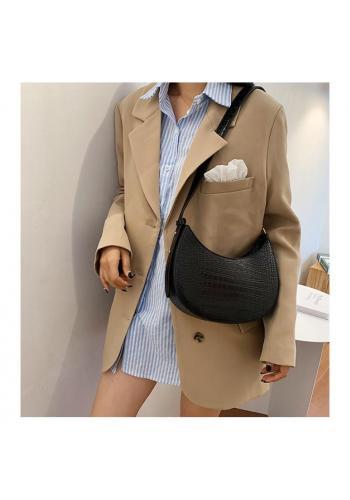 Elegantní dámská kabelka černé barvy z ekokůže