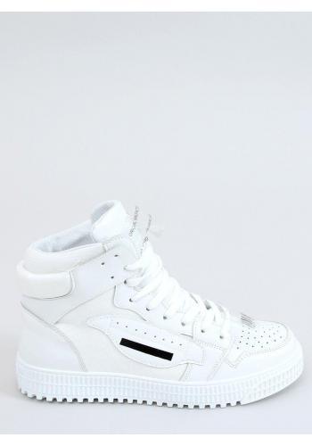 Bílé kotníkové Sneakersy pro dámy