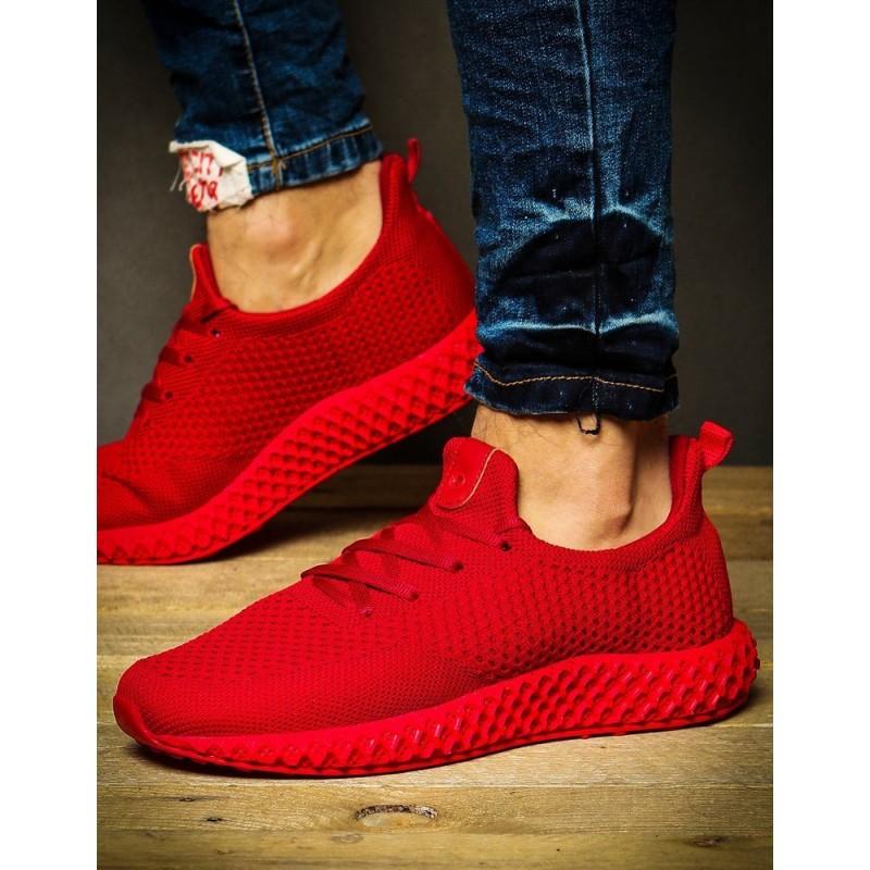 Červené sportovní Sneakersy pro pány