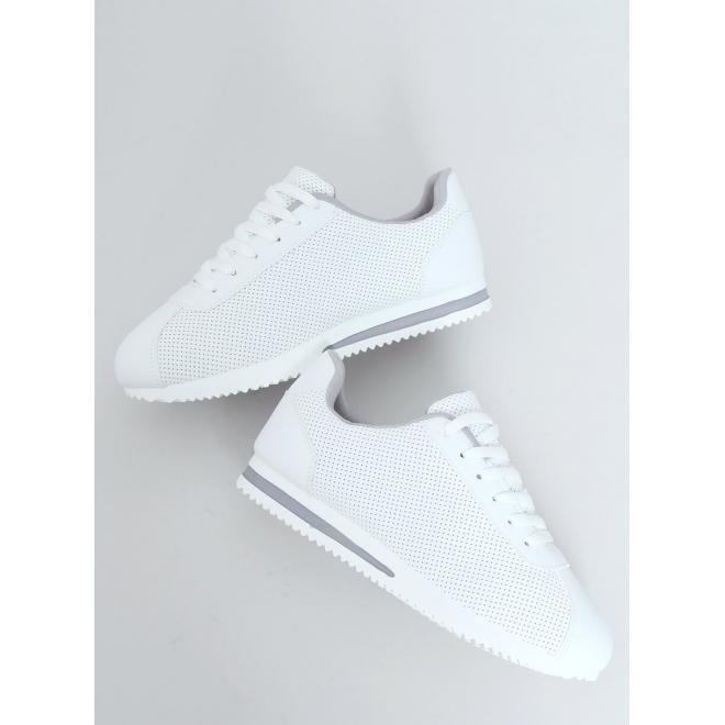 Bílo-šedé sportovní tenisky s pěnovou podrážkou pro dámy