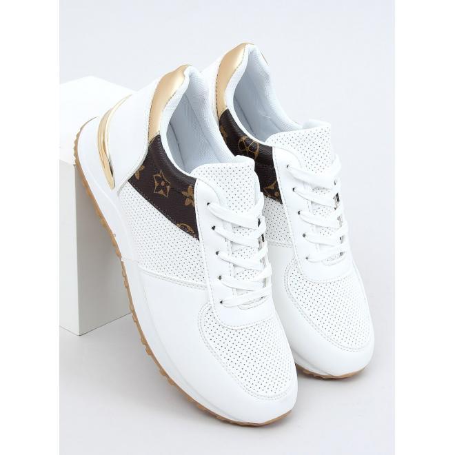 Módní dámské tenisky bílé barvy